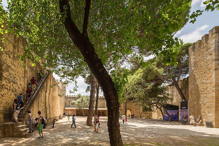 Remonter le temps au Castelo São Jorge