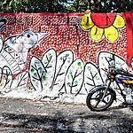 Graffitis à Puerto Plata