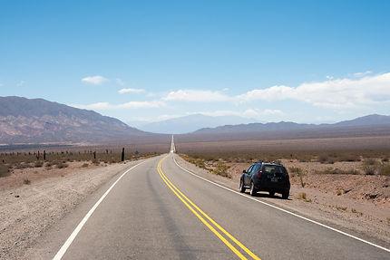 Longue route entre Salta et Cachi