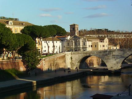 Balade hivernale à Rome