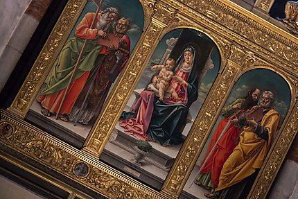 Triptyque Notre-Dame et l'Enfant