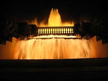 Fontaine magique