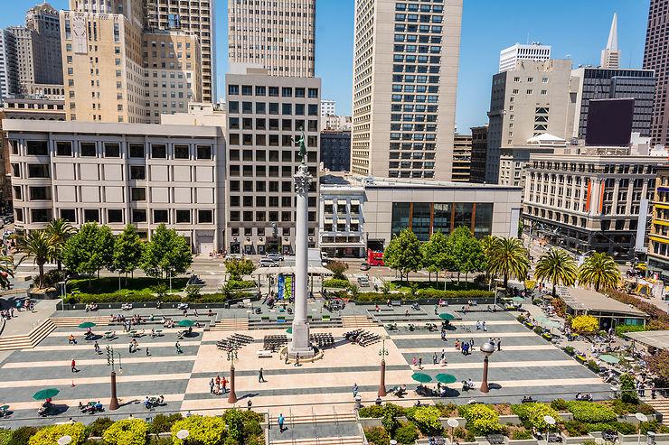 Balade dans Union Square et Financial District