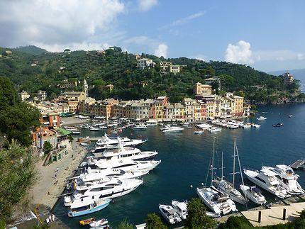 Vue d'ensemble à Portofino