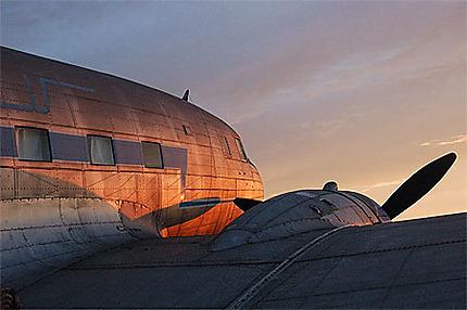 Ancien avion, au musée de l'aéroport