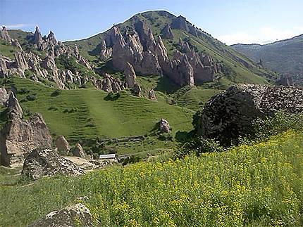 Village troglodyte de Goris