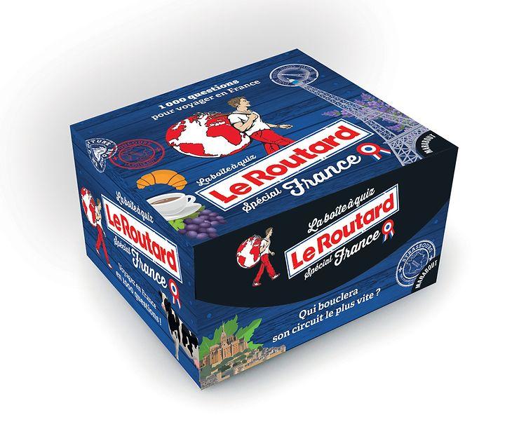 Idée cadeau - Avec la boîte à quiz Le Routard, la France n'aura plus de secrets pour vous !