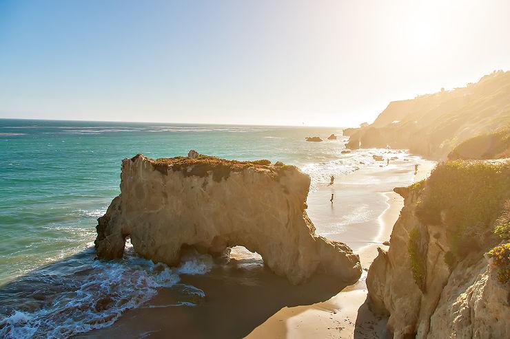 Malibu, Santa Monica, Venice Beach : nager en plein mythe