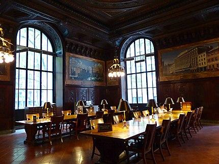 New York Public Library - Salle de lecture