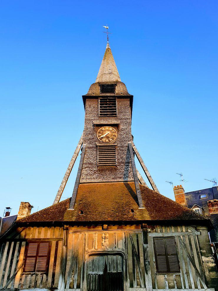 Église Sainte-Catherine à Honfleur, Normandie