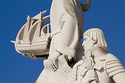 Lisbonne - Belém - Monumento das Descobertas - Détail