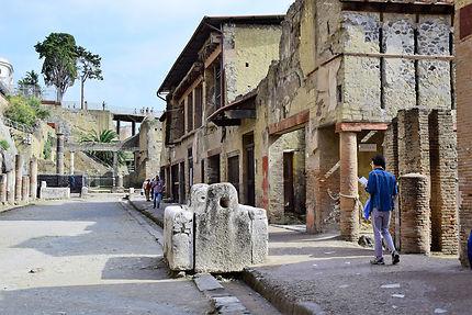 Une rue d'Herculanum