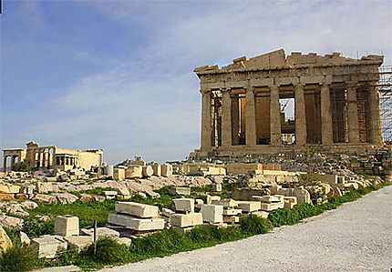 Vue Générale du Parthénon