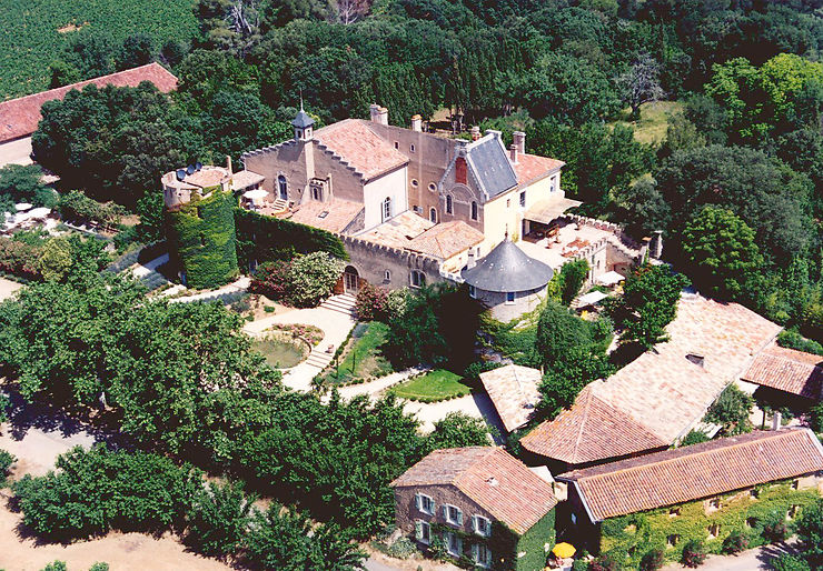 Les châteaux pinardiers - Hérault