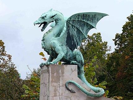 Dragon du pont de Ljubljana