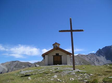 La chapelle du lac Sainte-Anne, Mercantour