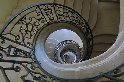 Escalier de l'Abbaye des Prémontrés