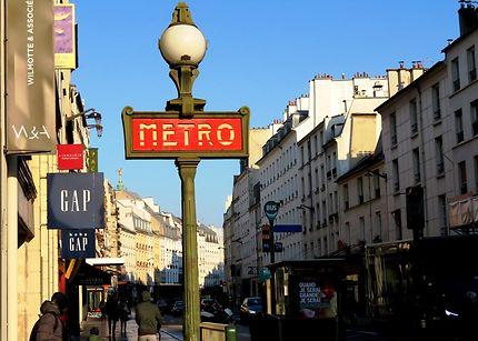 La rue du Faubourg Saint Antoine