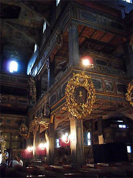 Intérieur de l'Eglise de la Paix