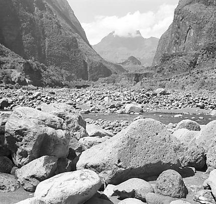 L'entrée de Mafate par la rivière des Galets