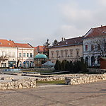 Place centrale de Vác