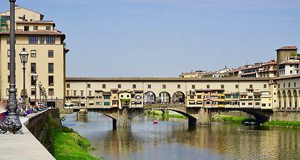 Le pont des Bijoutiers à Florence