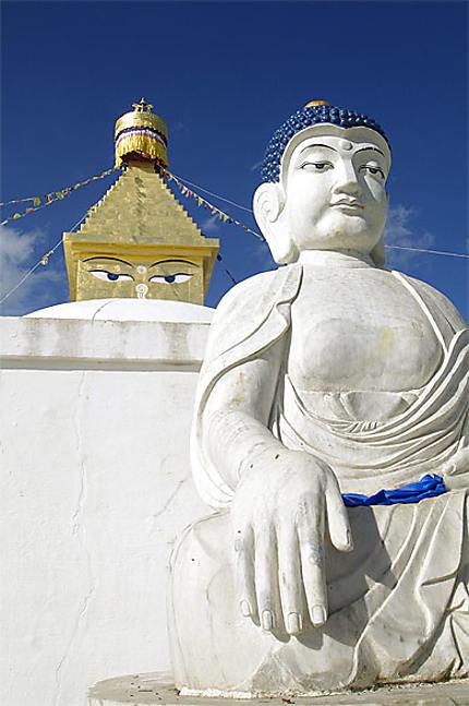 Les 4 éléments réunis à Amarbayasgalant Khiid