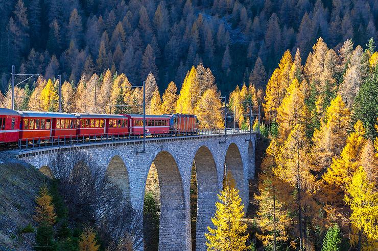 Bernina Express - Suisse et Italie