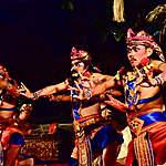 Spectacle de danse à Ubud