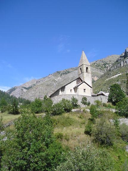 Eglise de Saint'Dalmas le Selvage, Mercantour