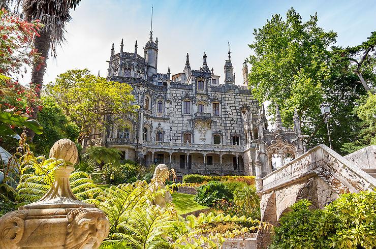 S'émerveiller au Palácio e quinta da Regaleira à Sintra