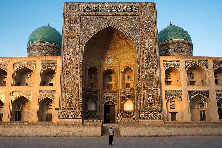 Madrasa Mir-i Arab à Boukhara, Ouzbékistan
