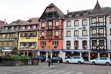 Rue d'Obernai, Alsace