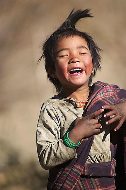 Girl - Jomsom - Népal