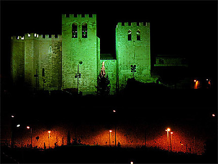 L'abbaye St Victor la nuit