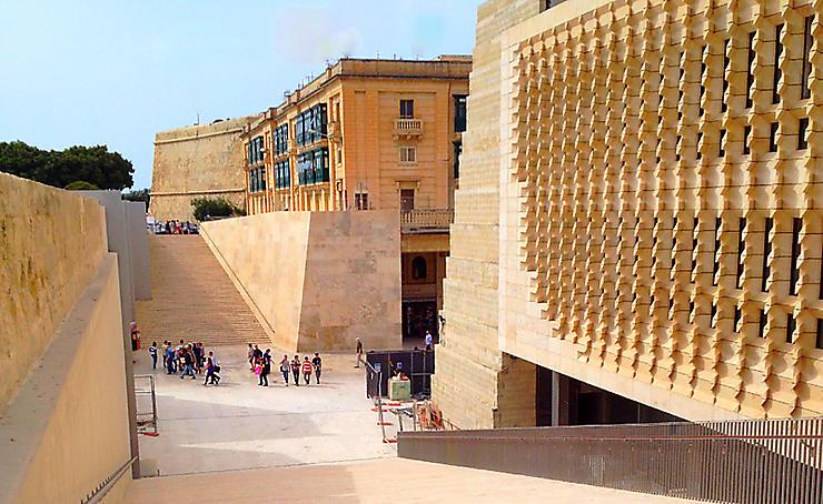 Le nouveau La Valette, par Renzo Piano
