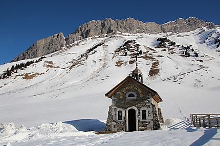 Chapelle col des Aravis