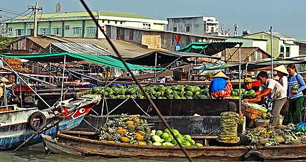 VIETNAM CAI RANG marché flottant