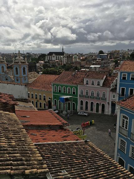Pelourinho au petit matin, Brésil