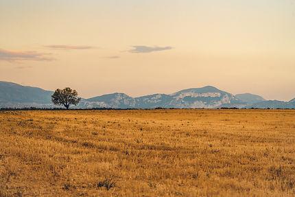 Les couchers de soleil en Provence
