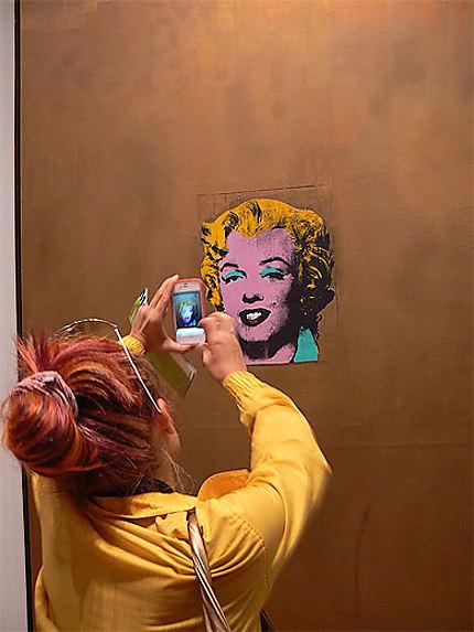 A portrait of artist