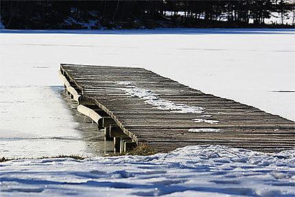 Le petit ponton de bois