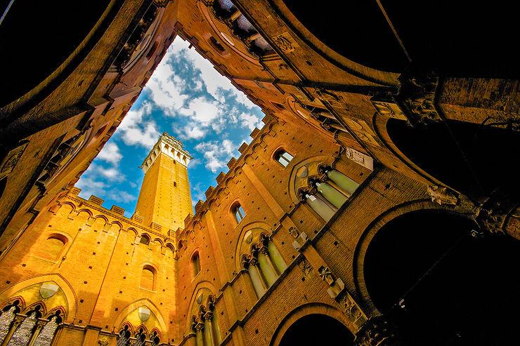 Museo Civico de Sienne, l'histoire en grand