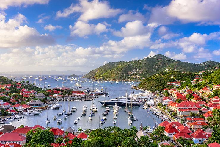 Gustavia, capitale de Saint-Barthélemy
