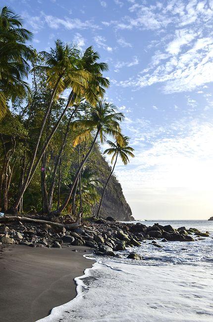 La plage d'Anse Couleuvre