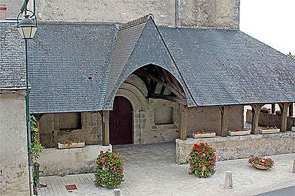 Porche de l'église Saint-Etienne