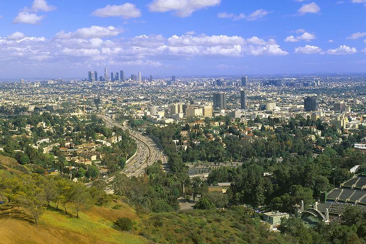 Mulholland Drive et le Getty Center : avec vue sur L.A.
