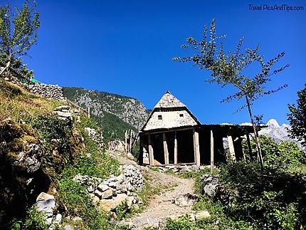 Village de Theth, Albanie du nord