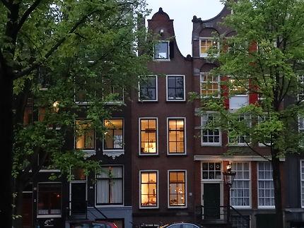 Amsterdam, lumières du soir