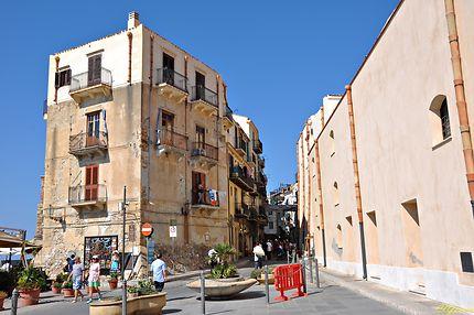 La vieille ville de Cefalù
